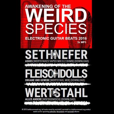 Awakening of the Weird Species - Electronic Guitar Beats 2016